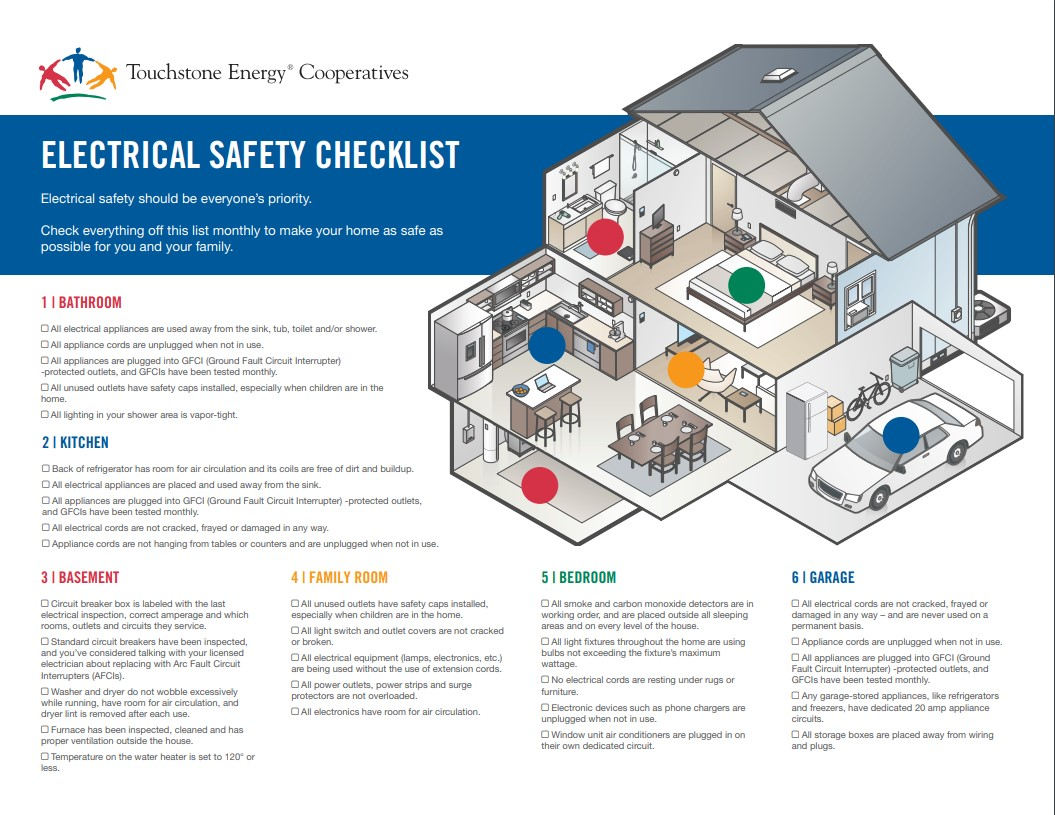 Home Electricity Safety Checklist