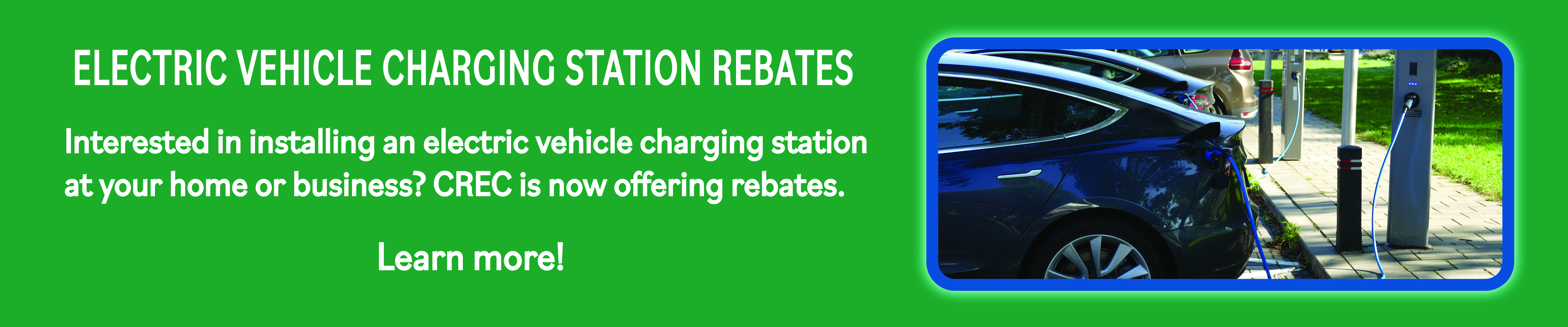 Electric Vehicle Charging Station Rebates